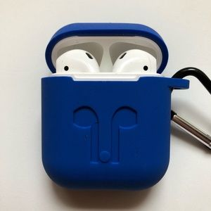 Apple AirPod Case Cover - royal blue - NEW